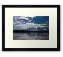 Sunrise Over Eagle Lake (6) - Mikisew Provincial Park Framed Print