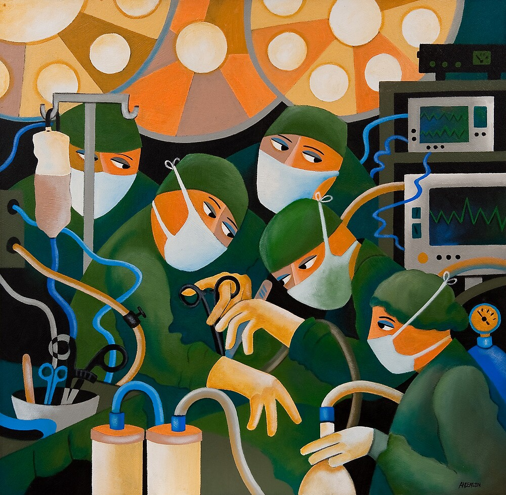 THE SURGEONS by Thomas Andersen