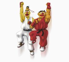 Sesame Street Fighter: Beryu & Kernie by gavacho13