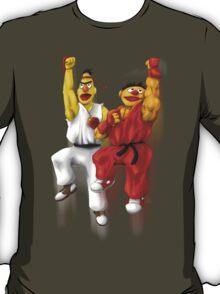 Sesame Street Fighter: Beryu & Kernie T-Shirt