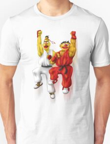 Sesame Street Fighter: Beryu & Kernie T-Shirt