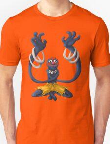 Sesame Street Fighter: Grhalsim Unisex T-Shirt