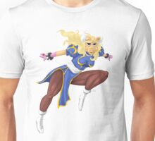 Sesame Street Fighter: Pig-Li Unisex T-Shirt