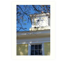 New England Architecture Art Print