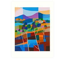 RICHMOND VIEW II, TASMANIA Art Print