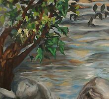 Saluda River by Gervais by Lily Todd