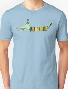Stripey Mr Crocodile Unisex T-Shirt