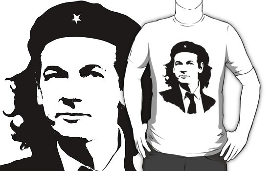 Julian Assange Ché T-shirt by chassange
