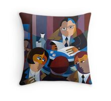 THE MAGISTRATE Throw Pillow