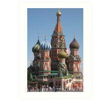 St Basil's Church, Moscow Art Print