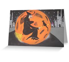 Halloween At Disneyland Greeting Card