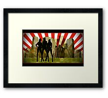 urban commandos Framed Print