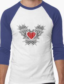 Open Heart Men's Baseball ¾ T-Shirt