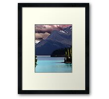 Dark Sky,Calm Waters Framed Print