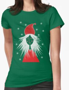 Girl is ready for Christmas. Xmas is here. Christmas fairy Womens Fitted T-Shirt