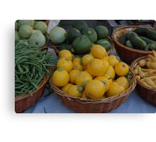 Farmers Market 2 Canvas Print