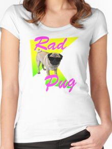 Rad Pug Women's Fitted Scoop T-Shirt
