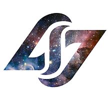 CLG COUNTERLOGIC GAMING LCS BASIC SPACE LOGO by Mike Edinger