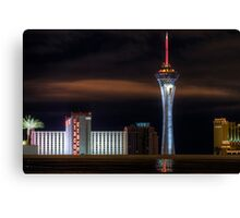 The Stratosphere after the Rain Canvas Print