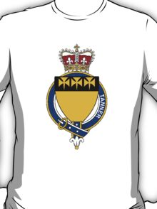 Coat of arms (family crest) for last-name or surname Tanner (Ireland) . Heraldry banner for your name. T-Shirt