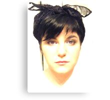 pinup bust Canvas Print