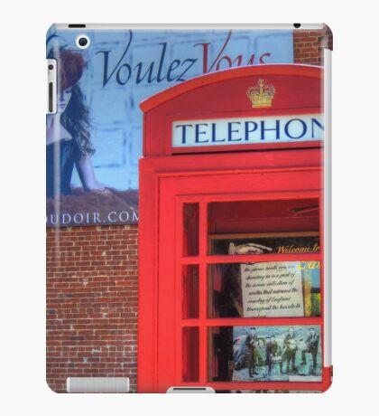 Phone Booth iPad Case/Skin