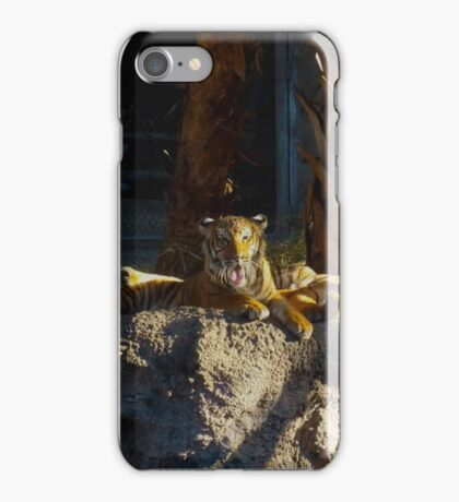Tiger with His Tongue Out iPhone Case/Skin