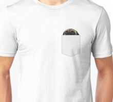 There's a pug in my pocket Unisex T-Shirt