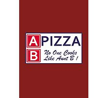 AB Pizza (Bad Blood) Photographic Print