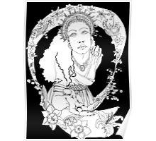 Spring Equinox Original Illustration Poster