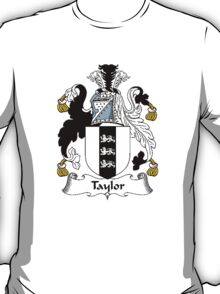 Coat of arms (family crest) for last-name or surname Taylor I . Heraldry banner for your name. T-Shirt