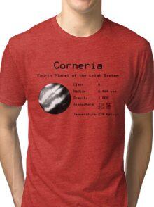 Star Fox -- Corneria Tri-blend T-Shirt