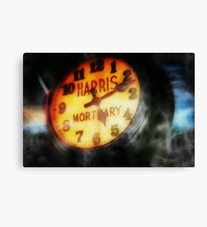The Clock Is Ticking Canvas Print