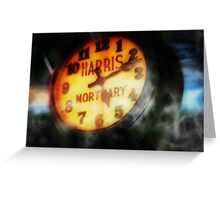 The Clock Is Ticking Greeting Card