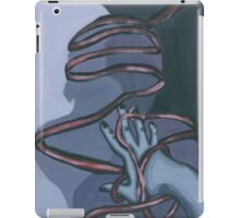 Fallen ribbon shadows iPad Case/Skin
