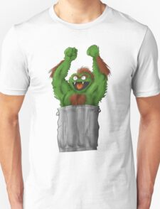 Sesame Street Fighter: Oska Unisex T-Shirt