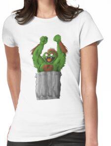 Sesame Street Fighter: Oska Womens Fitted T-Shirt