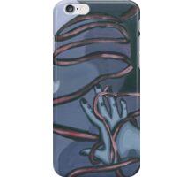 Fallen ribbon shadows iPhone Case/Skin