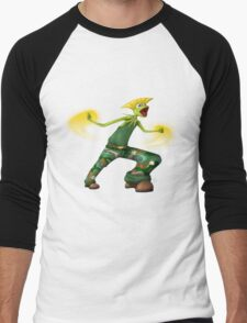 Sesame Street Fighter: Gurmit Men's Baseball ¾ T-Shirt