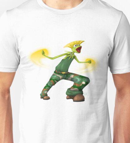 Sesame Street Fighter: Gurmit Unisex T-Shirt