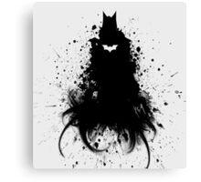 Batman ink Canvas Print