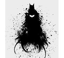 Batman ink Photographic Print