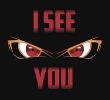 I SEE YOU, RED EYES by SRonal