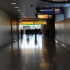 Airport Walkway by ClaudineAvalos