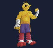 Sesame Street Fighter: Big Bagat Kids Tee