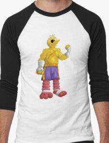 Sesame Street Fighter: Big Bagat Men's Baseball ¾ T-Shirt