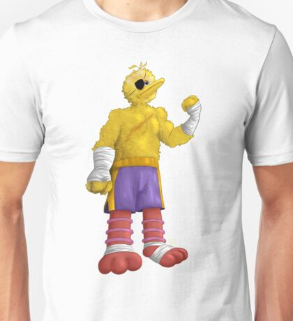 Sesame Street Fighter: Big Bagat Unisex T-Shirt