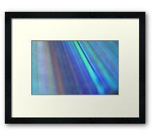 The Colours Of The Rainbow Framed Print
