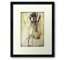 Distance in Your Eyes Framed Print