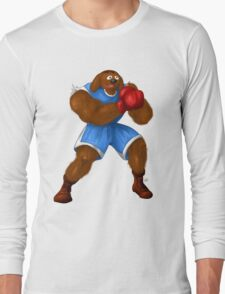 Sesame Street Fighter: Baldog Long Sleeve T-Shirt